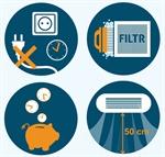 Infografika 10 tipů pro delší životnost projektorové lampy
